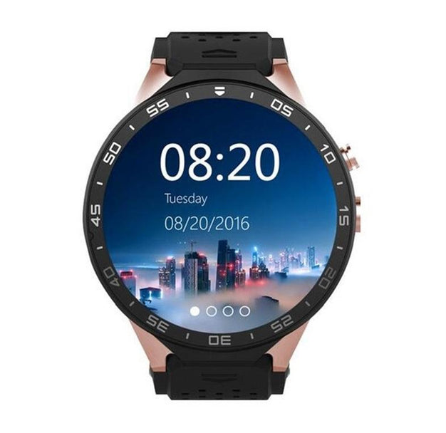 Smart Moderns - New Luxury Sports Quad Core GPS Bluetooth Smart Watch With Heart Rate WIFI Multiple Enhanced Screen Dials Gesture Control