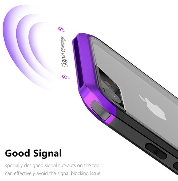 New Luxury Heavy-Duty Shock & Dust-Proof Protective Phone Case Cover for iPhone XR XS X 10 8 Series