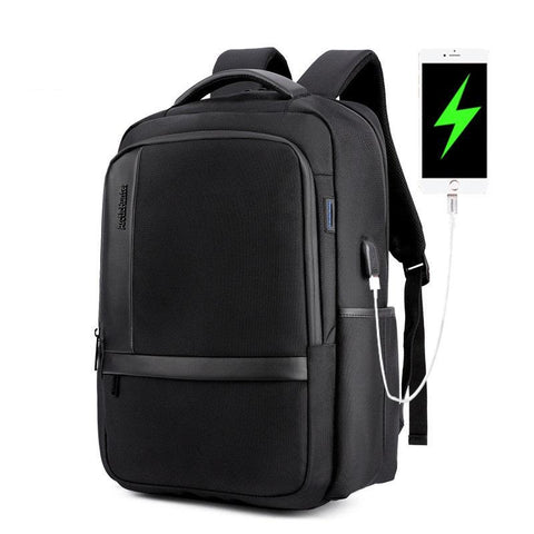 New Urban Traveler's External USB Charge 15.6 inch Notebook Laptop Unisex City Backpack