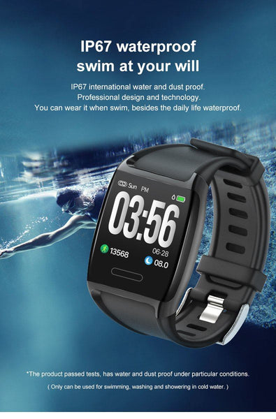 New 1.3'' IPS HD Screen Smartwatch Heart Rate Blood Pressure Oxygen Monitor Stopwatch Multi-Sport Smart Watch For Android iOS