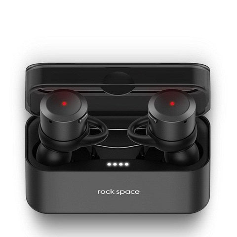New Bluetooth Earphone TWS True Wireless Earbuds Bluetooth Stereo Earphones with Portable Charger Box