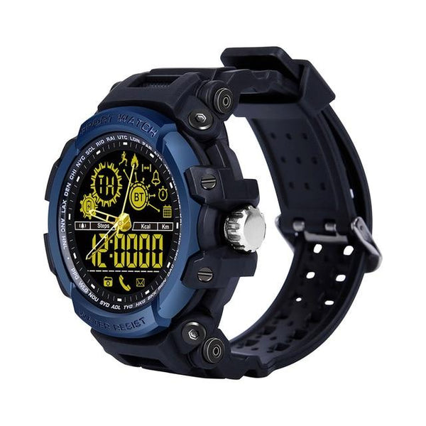 New Rugged Fitness Smartwatch Passometer Smart Clock Waterproof Watch Activities tracker for iPhone Android Phones