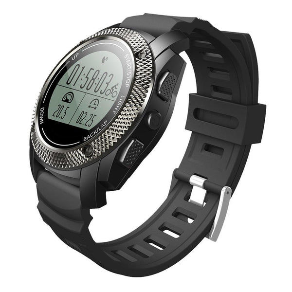 New Outdoors Spot GPS Smart Watch with Dynamic Heart Rate Monitor Message Alerts for Android IOS