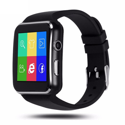 New Stylish Bluetooth Sports Smart Watch with Passometer Camera for Androids