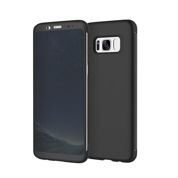 New Transparent Full Window Invisible Flip Case for Samsung Galaxy S8 / S8 Plus