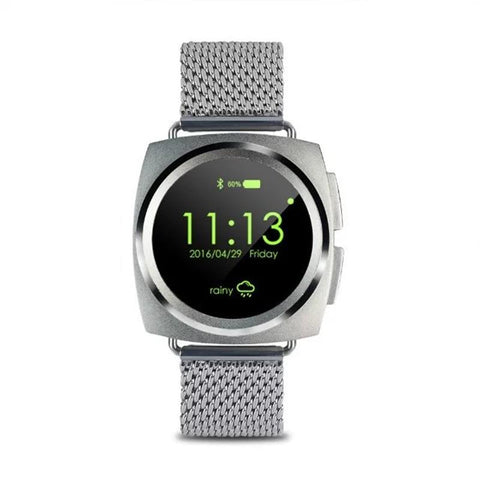 New Gesture Motion Bluetooth Heart Rate Monitor Smart Watch 128MB RAM 64MB ROM with Speaker Microphone