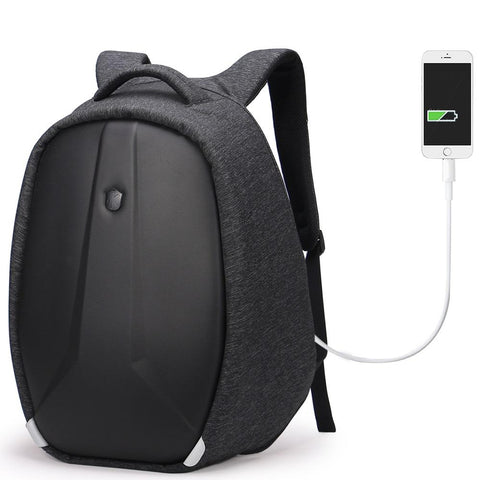 NEW ARRIVAL - Anti-Theft Water-Resistant Large Capacity Backpack with Reflective Tap & Battery Slot for USB Charging