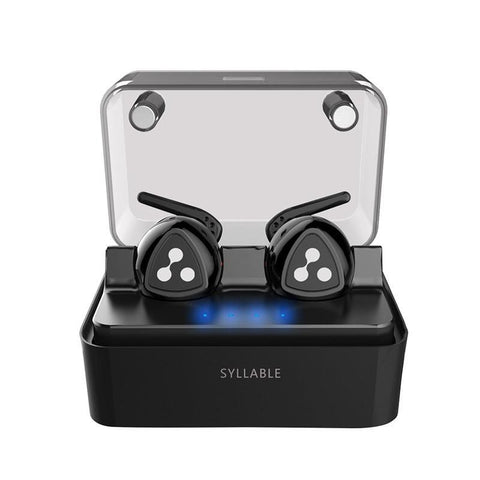 New True Wireless Stereo Bluetooth Earphone Headset Wireless Earbuds with Charge Box