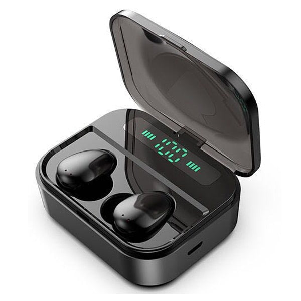 New TWS Bluetooth 5.0 Wireless 6D Stereo HiFi Wireless Earbuds Gaming Headset With Microphone 2200mAh Charge Box