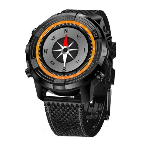 New 3G Android 5.1 GPS WIFI Heart rate Monitor IP67 Waterproof Smartwatch With Compass