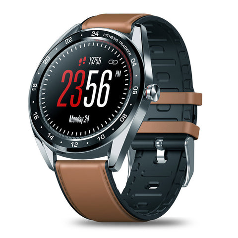 New Color Touch Display Heart Rate Blood Pressure IP67 Waterproof Smartwatch For Android iPhone