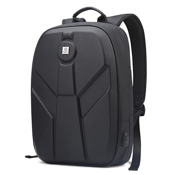 New Hard Shell EVA Backpack Water Repellent USB Charging Laptop Motorcycle Daypack Mochila Backpack