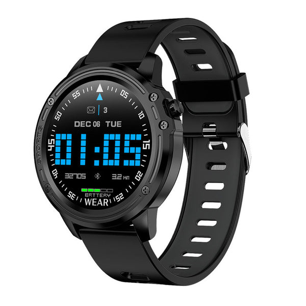 New Men's Muliti-Sport Blood Pressure Heart Rate Monitor IP68 Waterproof Smart Watch For Android iPhone