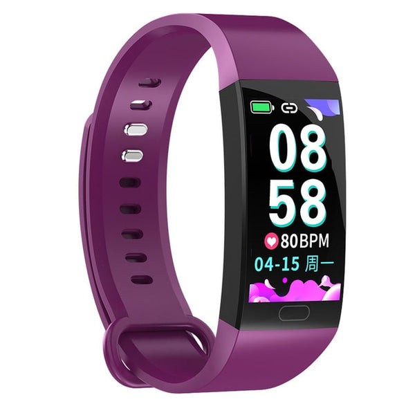 New Sport Fitness Tracker Waterproof Heart Rate Monitor Smart Wristband Watch For iPhones Android