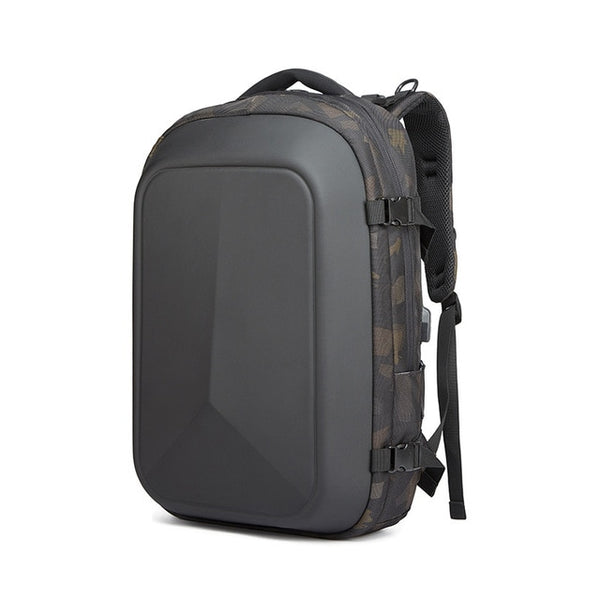New Men's Business Multifunctional USB Charging Laptop Backpack Water-Repellent Travel School Bag