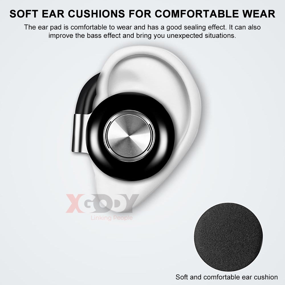 New Tws Wireless Headphones Stereo Bluetooth 5 0 Earphone Ear Hook Noi Smart Moderns