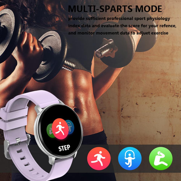 New Heart Rate Step Sleep Monitoring Waterproof Sport Fitness Tracker Smartwatch