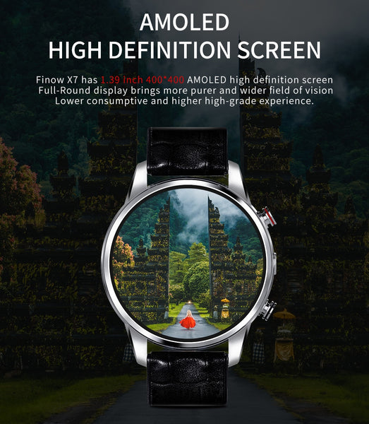 New 4G Sport Fitness Heart Rate Tracker Android 7.1  Smartwatch For Android iPhone