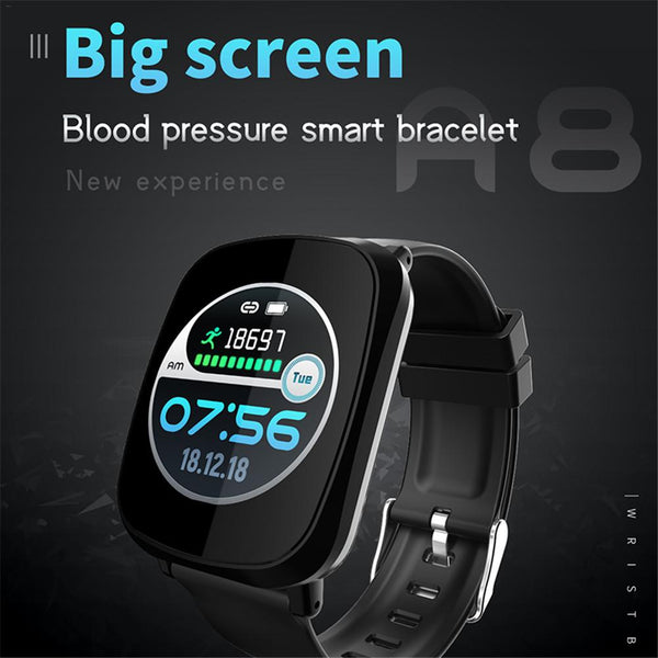 New Multifunctional Heart Rate Blood Pressure Monitoring Pedometer Sport Fitness Tracker Smart Wristband