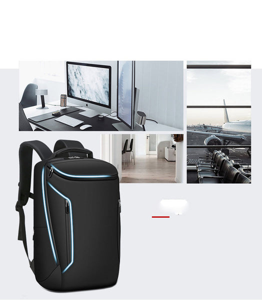 New Anti-Theft Multifunctional 15.6 inch Laptop Travel Outdoors USB Charging Bag Backpack