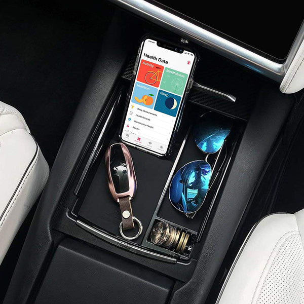 New Wireless Charger Holder Stand Bracket For Compatible iPhones Tesla Model Vehicles