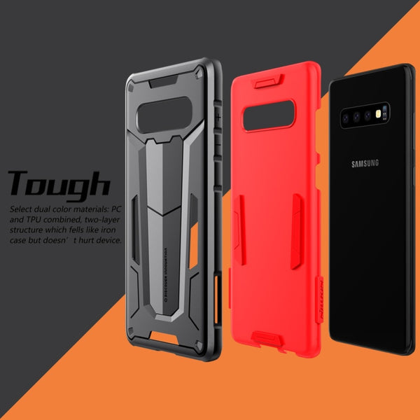 New Rugged Shield Back Tough Armour Case Bumper Cover For Samsung S10 Plus Series