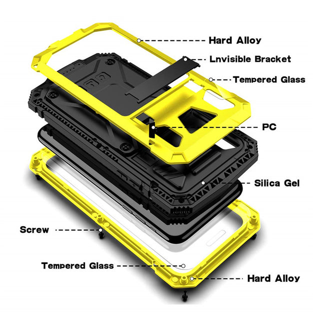 New Full Body Heavy Duty  Kickstand Shock-Resistant Case Bumper Cover For iPhone 11 Pro Max XS Series