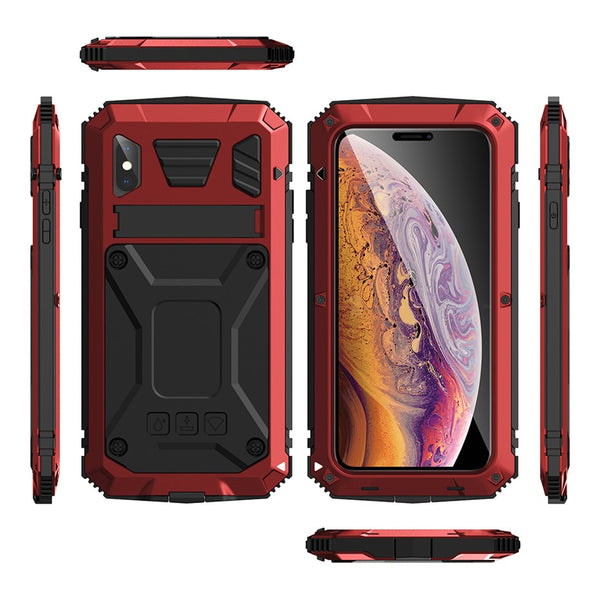 New Full Body Heavy Duty  Kickstand Shock-Resistant Case Bumper Cover For iPhone 12 11 Pro Max XS Galaxy S20 Series