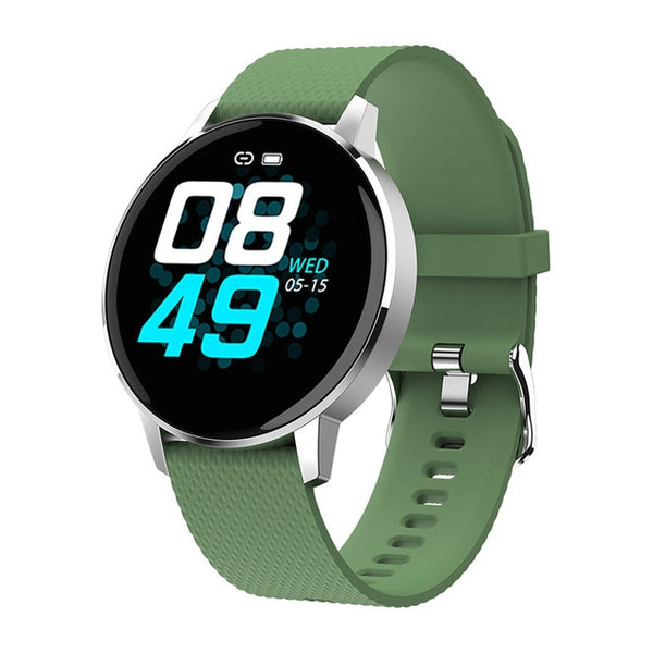 New Heart Rate Monitor Fitness Tracker IP68 Waterproof Smart Watch For Android IOS