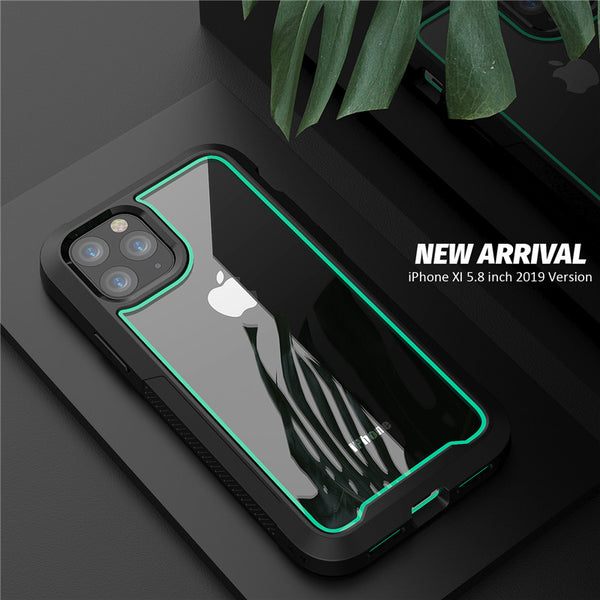 New Shock Drop Absorption Bumper Hybrid Cover Case For iPhone 11 X XR XS Max