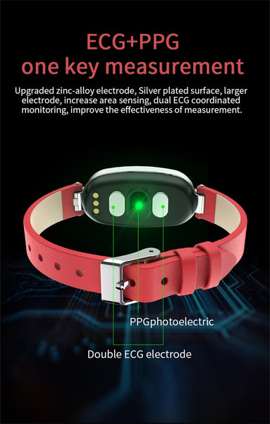 New Waterproof Heart Rate Monitor Sport Fitness Tracker Bluetooth Smartwatch For Android iPhones