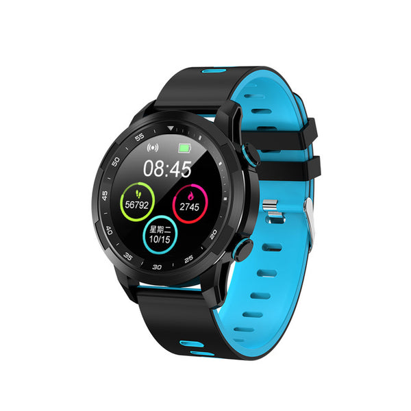 New Waterproof Full Touch IPS Screen Heart Rate Sport Fitness Tracker Smartwatch For iPhones Android