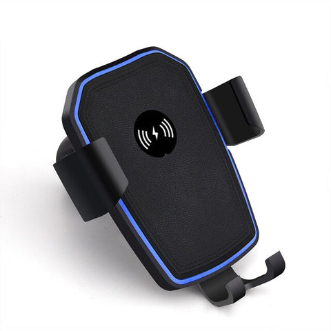 New 10W Qi Wireless Car Mount Phone Holder Quick Charger For Compatible iPhones Samsung Smart Phones