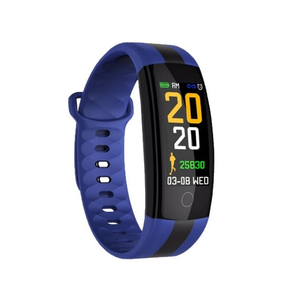 New Bluetooth Wristband Fitness Tracker Heart Rate Monitor Smartwatch For iPhones Android