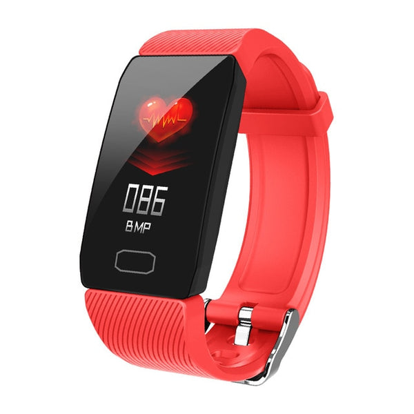 New Waterproof Heart Rate Fitness Tracker Bluetooth Digital Wristband Smartwatch