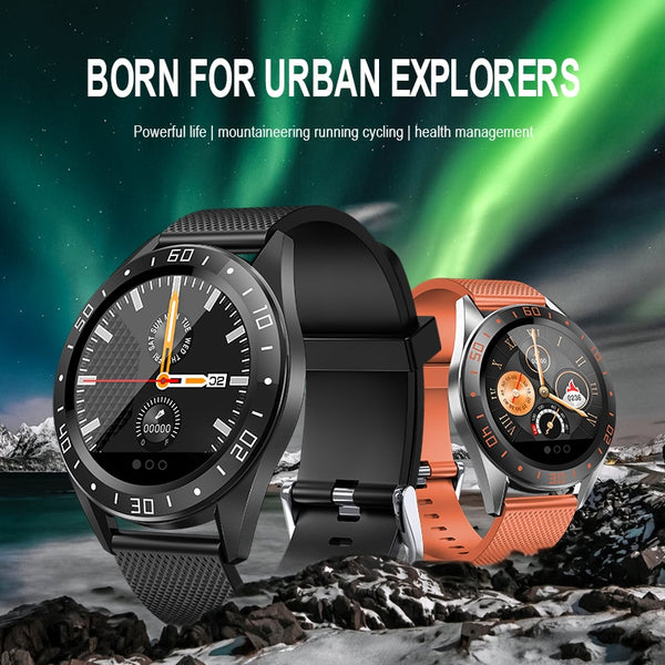 New Hybrid Heart Rate Fitness Tracker Digital Wrist Smart Watch Sports Smartwatch For iPhone Android Gifts