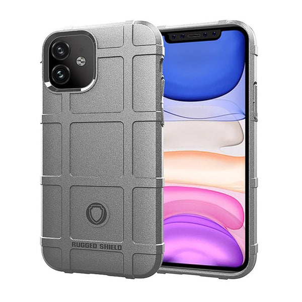 New Rugged Shield Soft Silicone Shockproof Protective Cover Case For iPhone X XR XS MAX 11 Pro Series