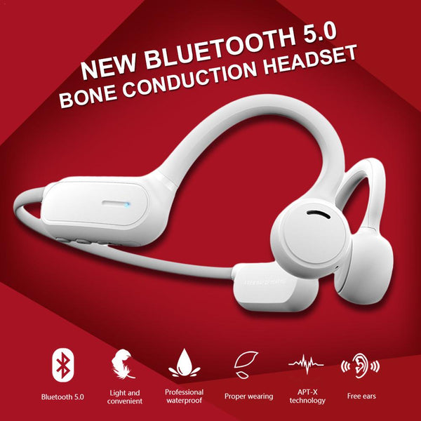 New Bluetooth Bone Conduction Headphones With Micro In-Ear Headset For Samsung iPhone Xiaomi