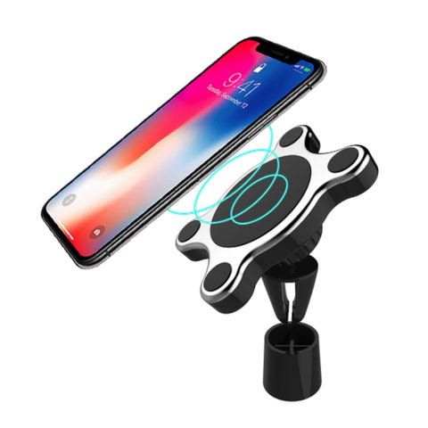 New Wireless Charger Magnetic Car Phone Qi Wireless Fast Charging Charger For iPhone Samsung Smartphones