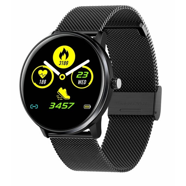 New IP68 Waterproof Heart Rate Fitness Tracker Digital Wrist Smartwatch For iPhone Samsung Xiaomi