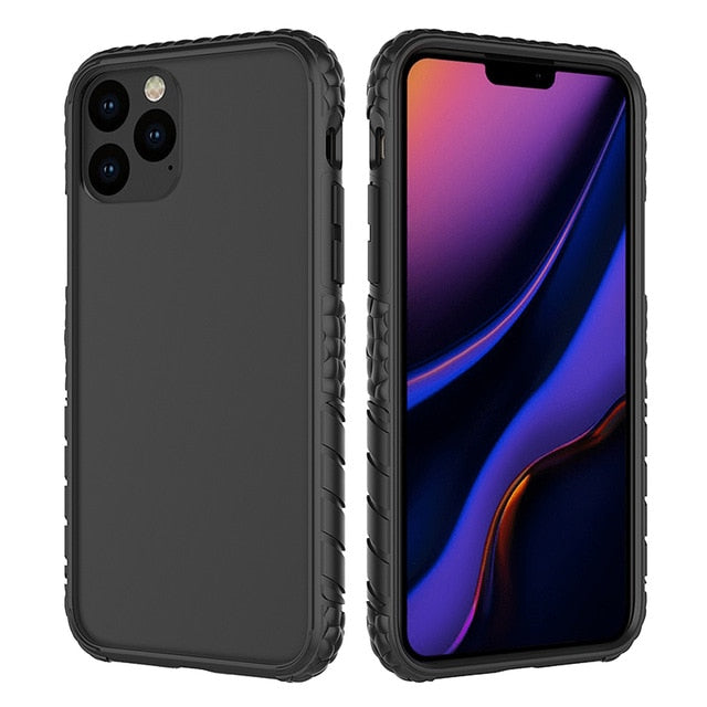 New Hybrid Dual Layer TPU+PC Anti-Scratch Shockproof Sport Armor Cover Case For iPhone 11 Pro Max Series