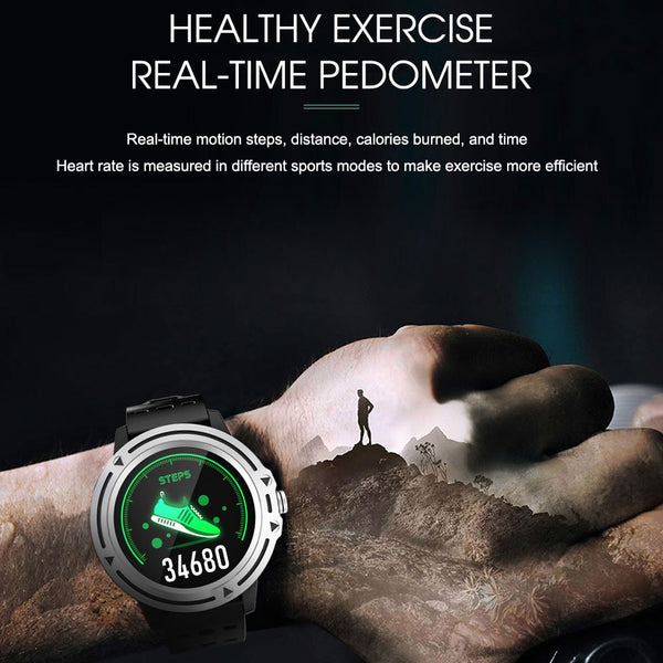 New Outdoor Sports Fitness Tracker Heart Rate Smart Watch Digital Wrist Smartwatch For iPhone Samsung Xiaomi