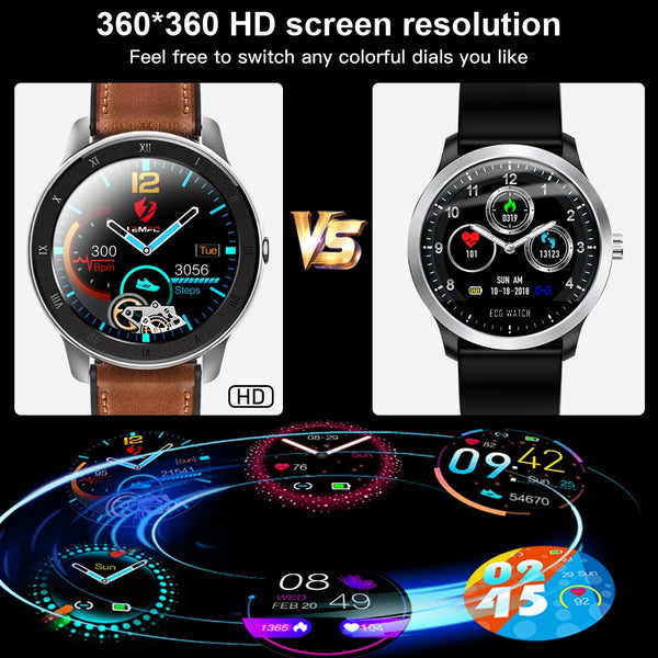 New Heart-Rate Fitness Tracker Smart Watch Digital Wrist Smartwatch For iPhone Samsung Xiaomi