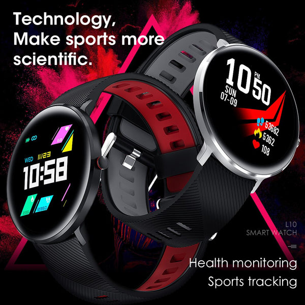 New IP68 Waterproof Swimming Bluetooth Smart Wristband Heart Rate Fitness Tracker Smartwatch