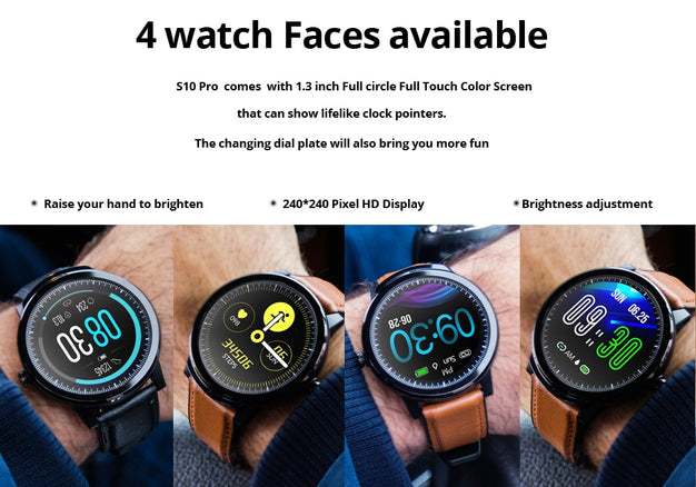 New Full Touch Heart Rate Fitness Tracker Digital Wrist Smartwatch For iPhone Samsung Xiaomi