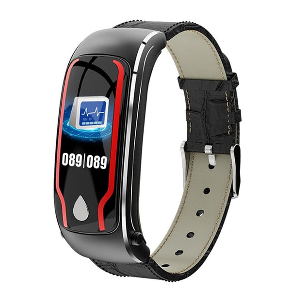 New Sport Fitness Tracker 2-In-1 Smartwatch Digital Wristband Smart Watch With Headset