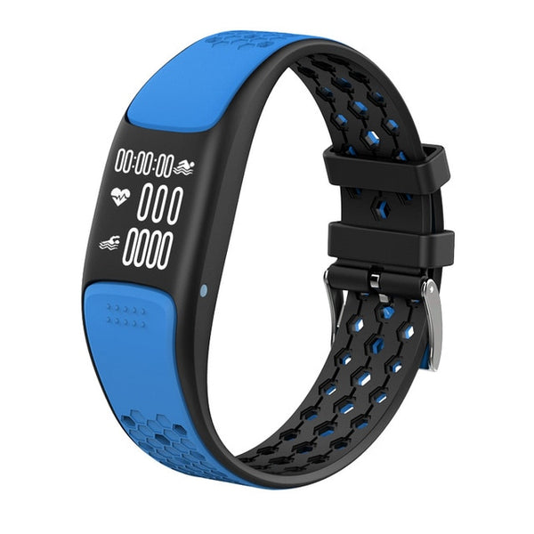 New IP68 Waterproof GPS HD OLED Screen Dynamic Heart Rate Monitor Pedometer Activity Tracker Smart Watch