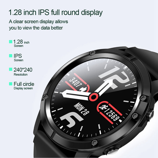 New Waterproof Heart Rate Fitness Tracker Long Standby Digital Wrist Smartwatch For iPhone Samsung Xiaomi