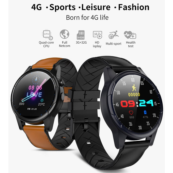 New 4G LTE Android 7.1 GPS Smartwatch Heart Rate Monitor Wrist Digital Smart Watch For iPhone Samsung Xiaomi