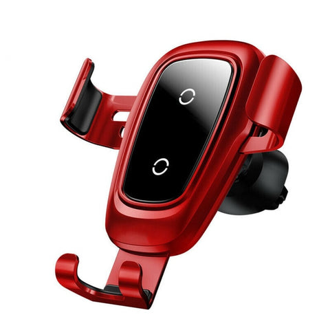 New Fast Wireless Car Mount Holder Charger For Compatible iPhones and Samsung Smart Phones
